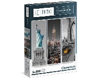 CL PUZZLE 3X500 NEW YORK